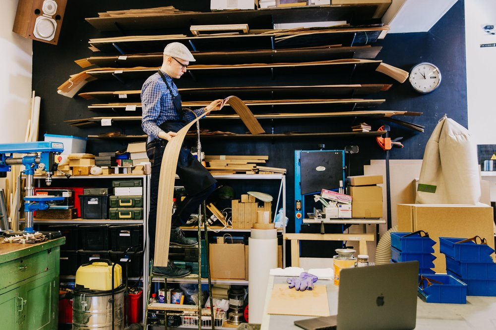 """Makers like the team at """"Framed"""" know how important it is to keep track of their manufacturing processes from all angles. There's plenty of ways to do so - throughput time is one of the tried and tested."""