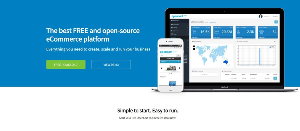 OpenCart is a great wholesale eCommerce platform.