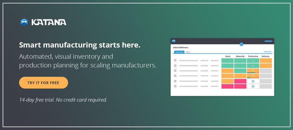 Katana - Smart Manufacturing Software