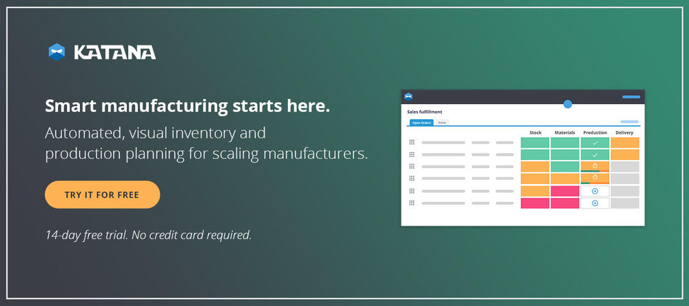Smart Manufacturing Software for Shopify