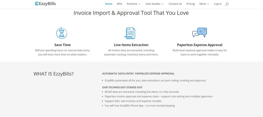 The best Xero apps will provide users with automation, just like what's offered by EzzyBills.