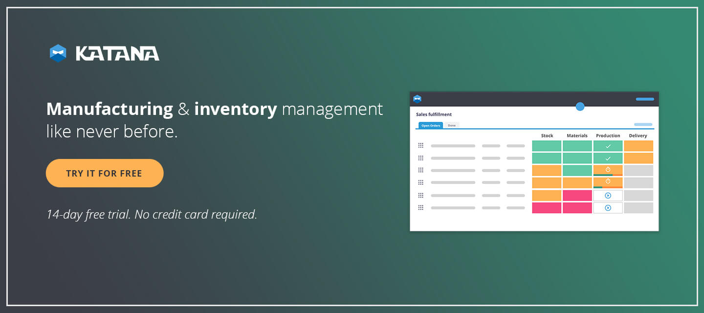 Manufacturing and Inventory Management System.