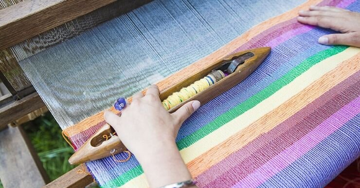 Textile manufacturing companies use different processes to produce a fabric. It all depends on what material you're using and what fabric you want to produce.