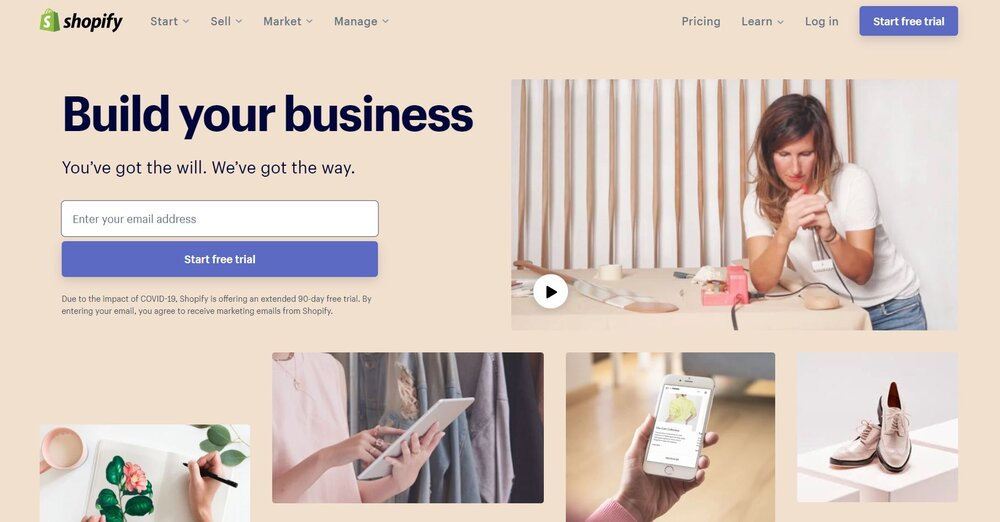 Shopify is one of many B2B eCommerce solutions.